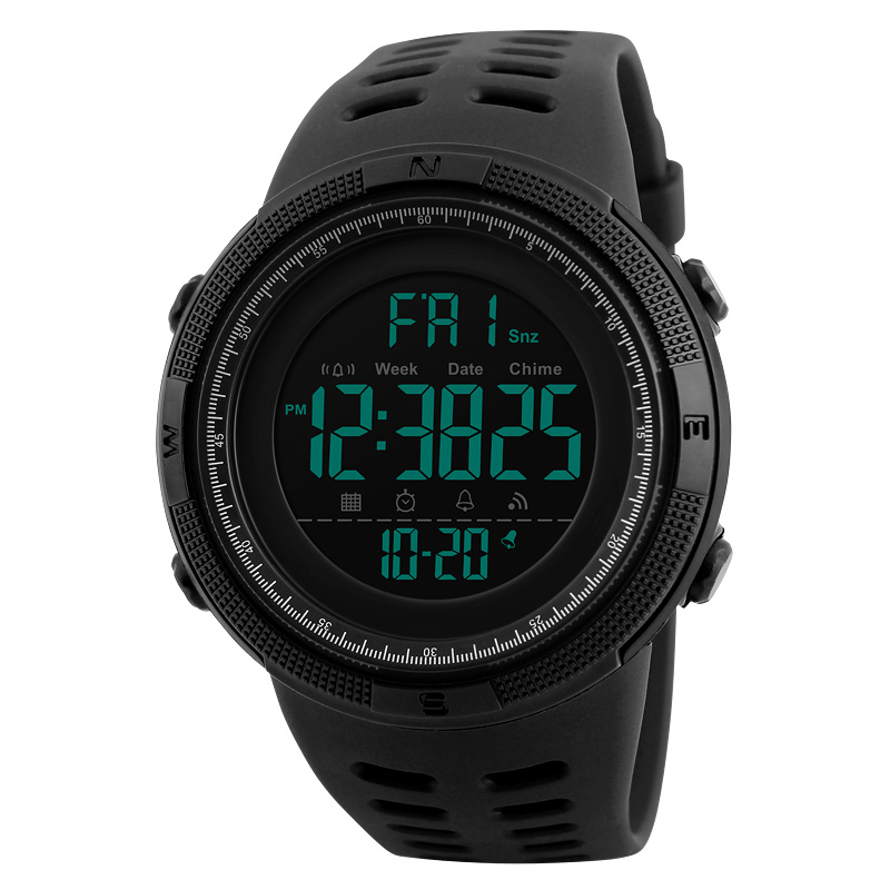 Skmei Luxury Brand Mens Sports Watches Dive 50m Digital LED Military Watch Men Fashion Casual Electronics Wristwatches Relojes 11