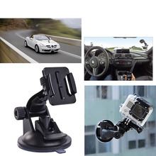 Gopro Accessories for SJ4000 Car Sucker Holder Mount Suction Cup for Go Pro Hero 4 3 2 1 SJ5000 Mini Camcorder Action Camera DVR