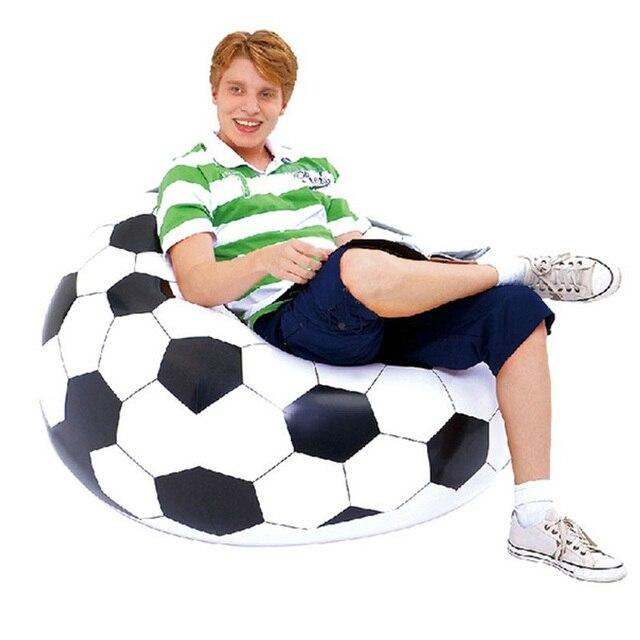 FooFootball Bola De Futebol Sofá Inflável Air Lounge Chair Beanbag Espreguiçadeira Infláveis DO PVC Sala de estar Móveis de Canto