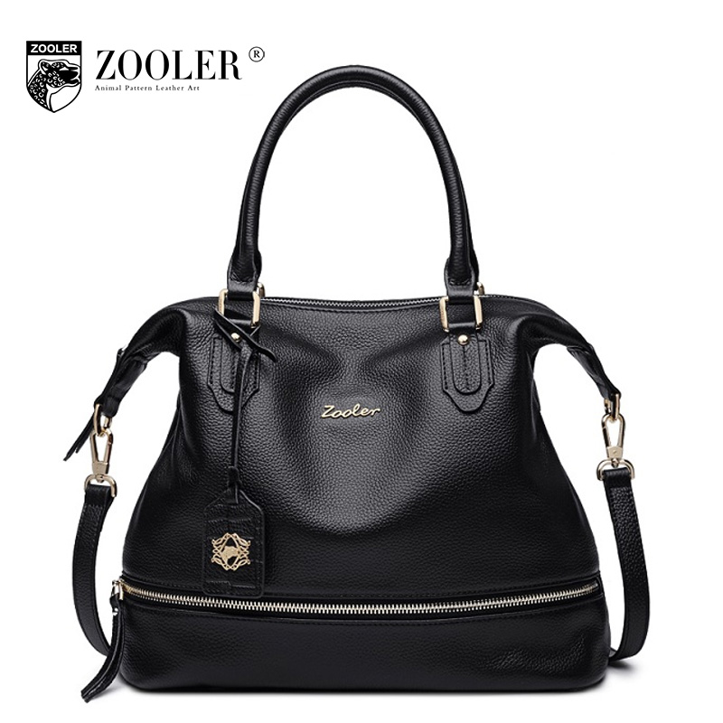 ZOOLER New Fashion Women Handbag Genuine Leather Female Shoulder Bag Tote Casual Ladies Bags Luxury Handbags Women Bags Designer zooler brand women fashion genuine leather handbag shoulder bag 2017 new luxury handbags women bags designer bolsa feminina tote