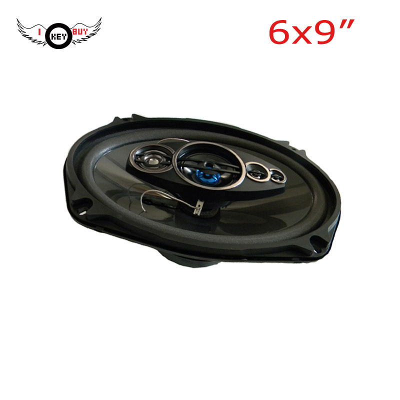 1pc Powerful Quality 6X9inch I KEY BUY  Audio Coaxial Speaker Parlentes Car Auto Stereo 4 ohm Louder Acoustic Speakers