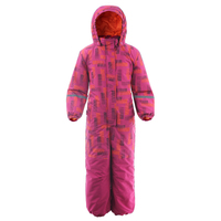 Moomin 2019 new fashion childrens winter overall warm waterproof winter jumpsuit outwear 20 degree snow overall girls pink