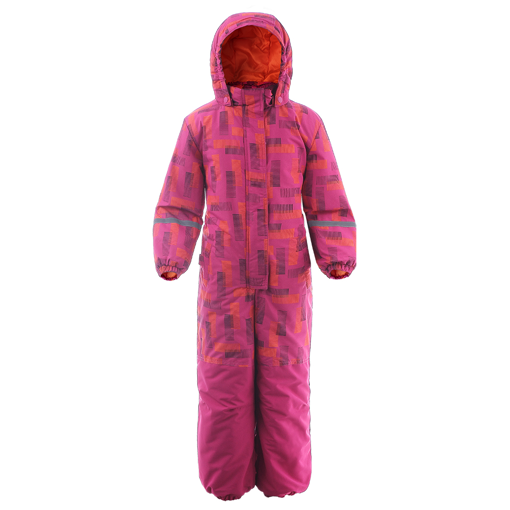 Moomin 2019 new fashion childrens winter overall warm waterproof winter jumpsuit outwear -20 degree snow overall girls pink