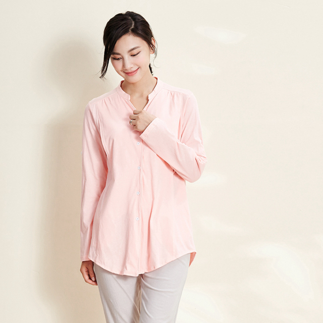 New Arrival 100%cotton Maternity Pajamas Sets long sleeve Winter Maternity Sleepwear for Pregnant woman Pajamas Suit for Feeding
