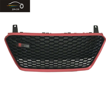 R8 Front Grille Euro RS Badgeless Matt Red Hex Grille for Audi R8 GT 4 Poster (Fits: R8) 2013 UP