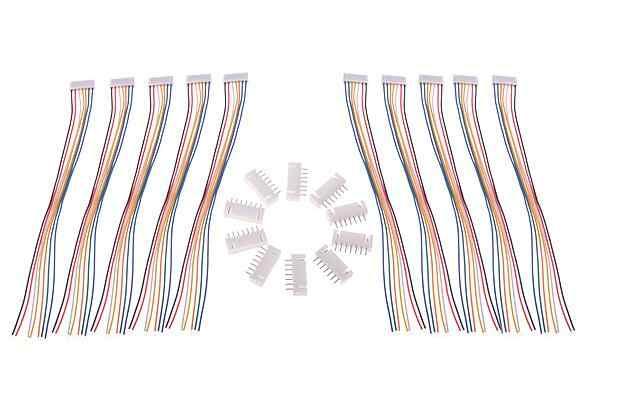 10 paires/lot 150mm RC lipo batterie balance chargeur fiche 2S1P 3S1P 4S1P 5S1P 6S1P 7S1P câble de ligne avec prise mâle et femelle