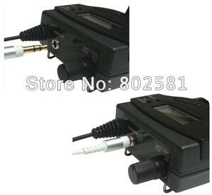 Image 2 - Bodypack receptor para sistema de Monitor de oído, cámara DSLR inalámbrica, micrófono, sistema de guía de viaje, 4x10 canales, ajustable