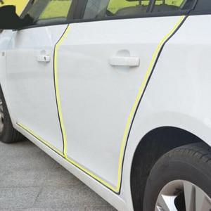 "5M""U""Type Car Door Rubber Seal Sound Insulation Sealing Strip For Renault Koleos Clio Scenic Megane Duster Sandero Captur Twingo(China)"