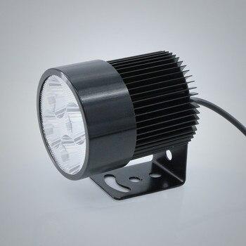 הנורה 1X פנס אופניים חשמליים דואר אופני מכונית אופנוע 12 V 24 V 36 V 48 V 80 V 6000 K לבן 20 W 1800LM LED כתם אור פנס Moto