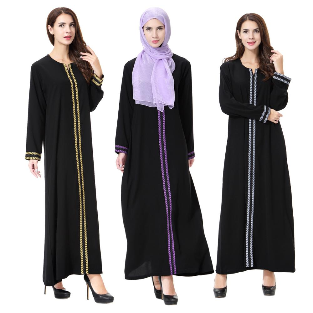 Plus Size 2017 Muslim Arab Middle East Ma'am Long Maxi Linen Ethnic Dress Robe Femme Longue Vestidos Mujer