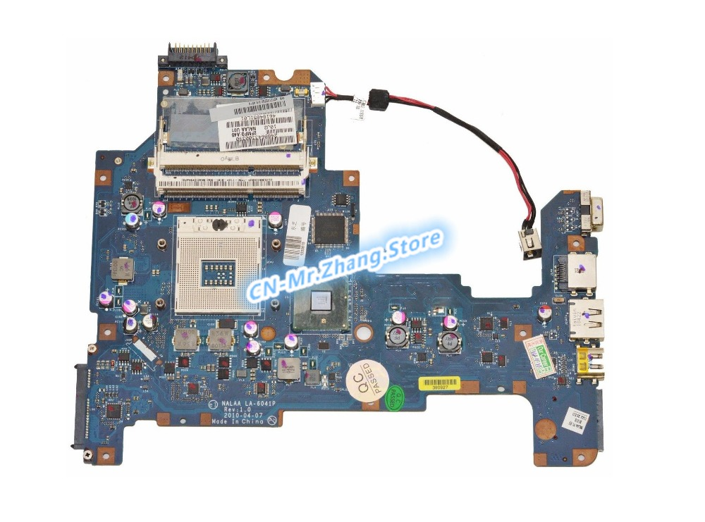 KEFU FOR Toshiba Satellite L670 L675 Laptop Motherboard K000103760 LA-6041P DDR3KEFU FOR Toshiba Satellite L670 L675 Laptop Motherboard K000103760 LA-6041P DDR3