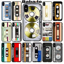 For iphone 11 Classic retro cassette tape Custom Photo Soft Phone Case for iPhone 8 7 6 6S Plus 5 5S SE XR X XS MAX Coque Shell