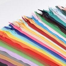 15/30pcs/lot 40 cm Invisible Zipper cushion Skirt Hidden 3# Nylon Zipper for sewing/Garment accessories DIY Handmade Craft