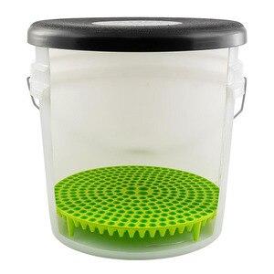 Image 3 - Foro di proiettile grit guardia di lavaggio Auto strumento di pulizia netto isolamento sabbia tovagliolo di pulizia spugna panno di pulizia anti colorazione filterdetai