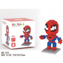 LNO Spider Man font b blocks b font ego nero legoe star wars duplo lepin brick