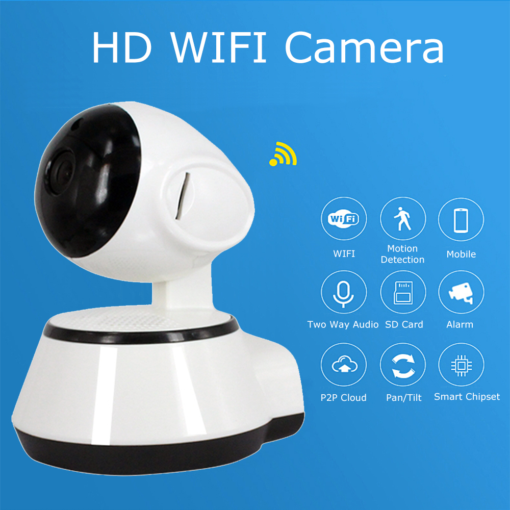 Full HD 720P Mini IP Camera CCTV Indoor Wireless Wifi IP Camera P2P Security Surveillance Camera IP Night Vision IR Baby Monitor annke mini hd 720p smart wireless pt security camera 1 0mp indoor ip camera wifi baby monitor 720p cctv surveillance camera