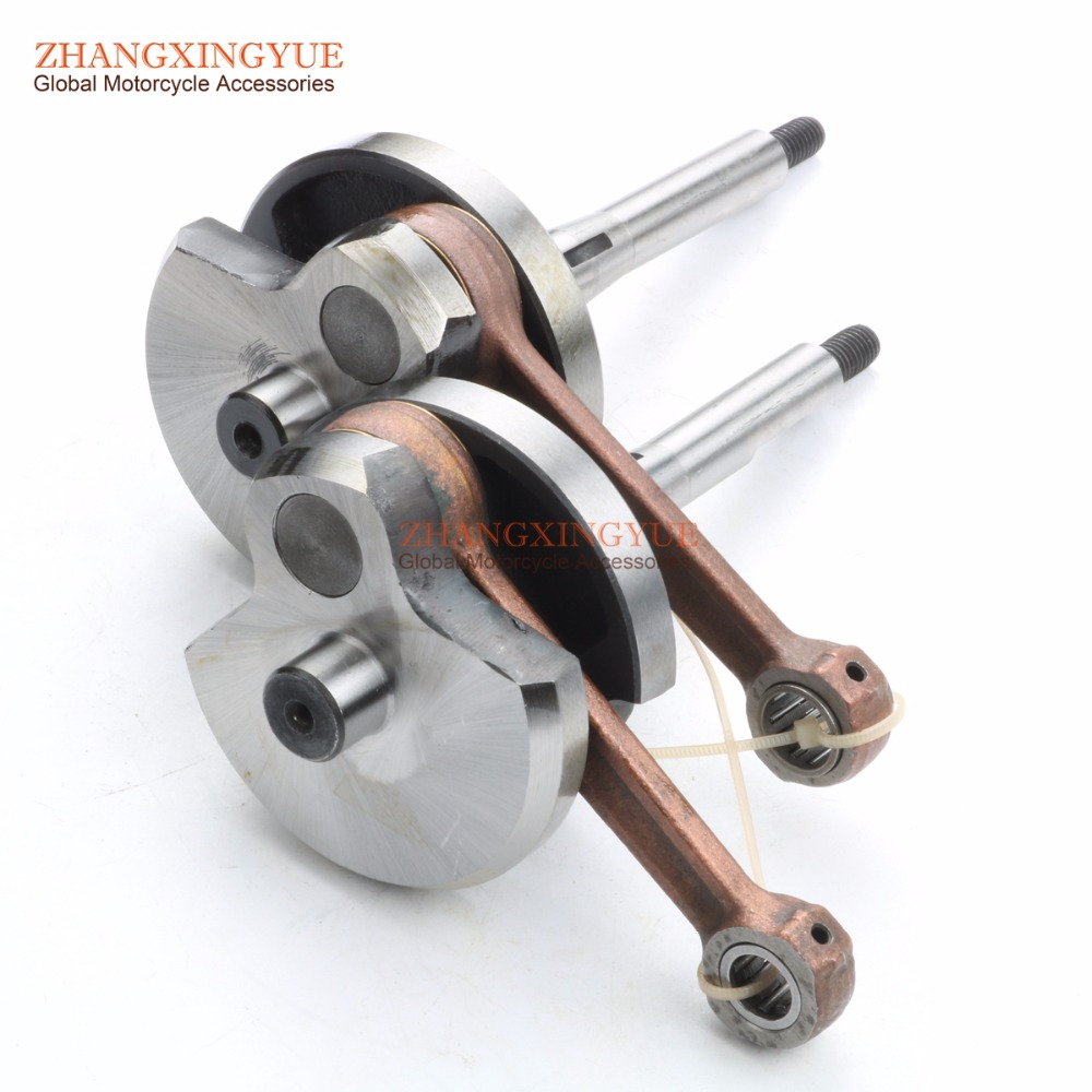 High quality crankshaft for PIAGGIO MOPED CIAO BRAVO SI 50CC PIN 10MM 12MM