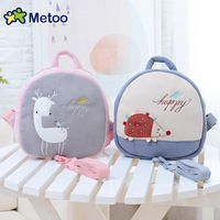 Metoo Brand New Arrival Kawaii Plush Toy Stuffed Doll Package Toys Bag Backpack Brinquedos Birthday Gift
