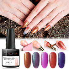 T-TIAO CLUB Poly Acrylic Quick Extension Nail Gel Pink Clear Nude Soak off UV Builder Tips Building Nails Art