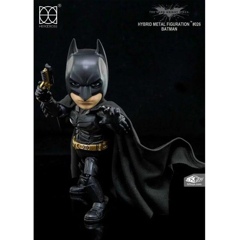 The Dark Knight Rises Batman Hybrid Metal figuation #026 Бэтмен со светодиодной подсветкой фигурки коллекционные модели игрушек