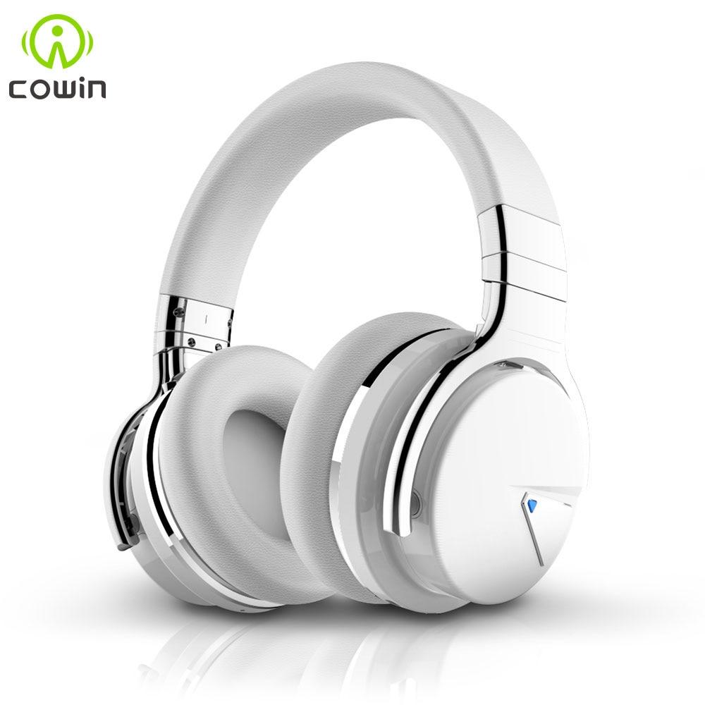 Cowin E/7 ANC Bluetooth Headphone Wireless bluetooth headset Handsfree Deep Bass Active Noise Cancelling Headphones Over Ear