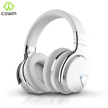 Cowin E/7 ANC Bluetooth Headphone Wireless bluetooth headset Handsfree Deep Bass Active Noise Cancelling Headphones Over Ear oneaudio a3 active noise cancelling headphones bluetooth wireless hifi over ear headset stereo anc foldable headphone with mic