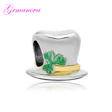 Magician's Magic Hat Pendant Charm Beads Big Hole New Jewelry Making Bracelet Amulet Fit Pandora Bracelet Women's DIY Jewelry(China)