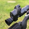 Jacht Tactical Digitale Nachtzicht Riflescope Dag En Nacht Scopes Bevestiging Met Camcorder Functie