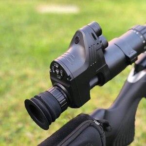 Image 1 - Polowanie taktyczne cyfrowy luneta z noktowizorem w dzień, jak i w nocy zakresy mocowanie za pomocą kamery funkcja
