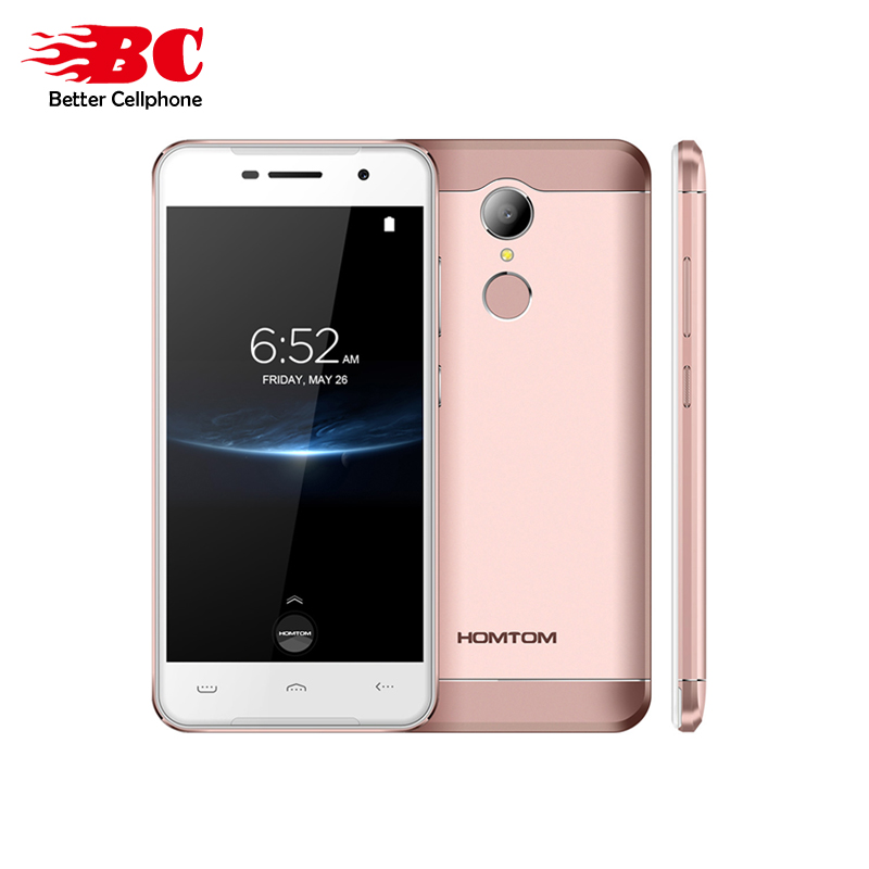 Original HOMTOM HT37 PRO MTK6737 Quad Core 1 3GHz Android7 0 Double speakers 3GB 32GB Fingerprint