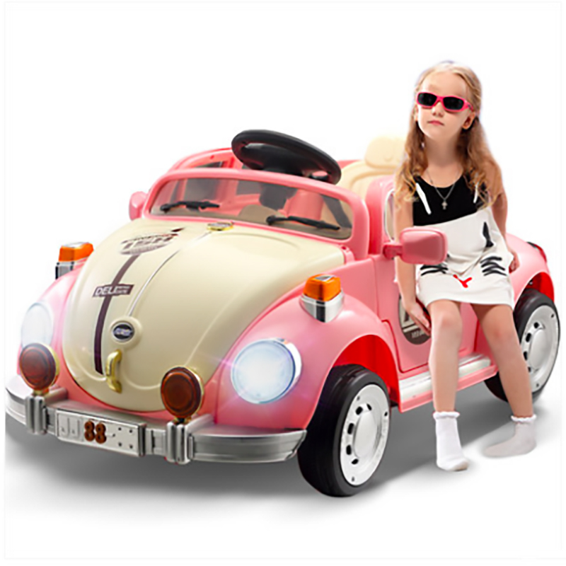 Childrens electric car rocking child car four wheels with remote control toy car can take a human electric car girl partChildrens electric car rocking child car four wheels with remote control toy car can take a human electric car girl part