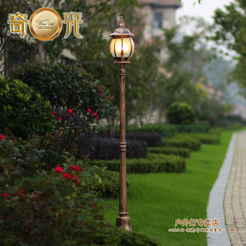 Courtyard garden lighting 220v L& waterproof garden decoration focos exterior post fashion street gazebo high pole l& 1.8M-in Outdoor Landscape Lighting ... & Courtyard garden lighting 220v Lamp waterproof garden decoration ...