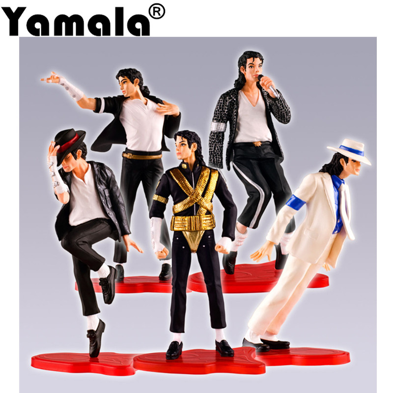 [Yamala] Free shipping High Quality Michael Jackson The King of Pop PVC Action Figure Collection Toy  michael silaev the kinetic investigation of the free radical addition