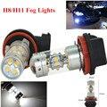 2 Unids 6000 K Blanco Estupendo 140 W 28SMD Chips H11 LED de Niebla Del Coche de Conducción luz Corriente del DRL Lámparas para Audi A4 b7, b8 niebla luces de Errores