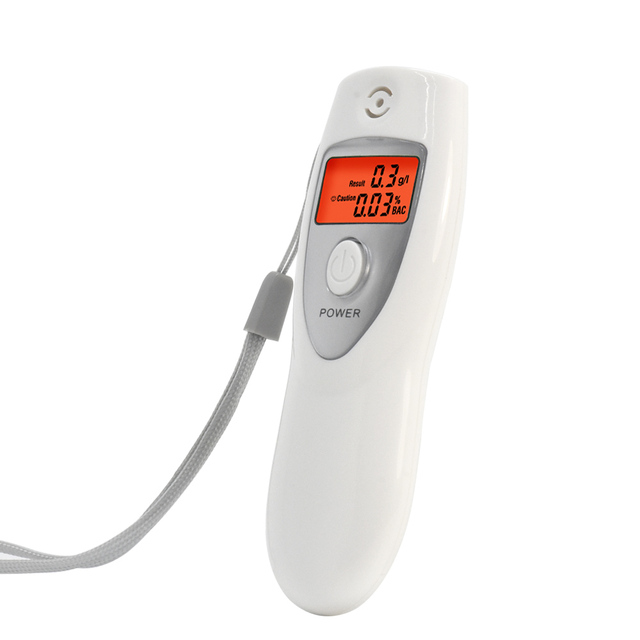 2019 Hot White Portable LCD Digital Breath Alcohol ABT-642S Analyser Breathalyzer Tester inhaler alcohol meters