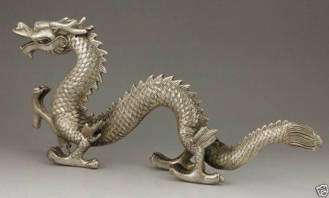 Izraditi kineski stari kolekcionarni tibetanski srebrni bakreni - Kućni dekor - Foto 4