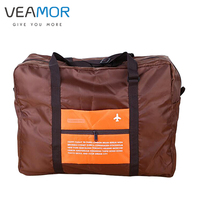 Oxford Cloth Material Large Capacity Travel Luggage Bags Waterproof Folding Multi Functional Storage Bags B1125