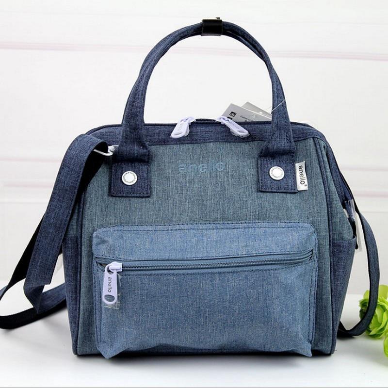 Anello anneau sac à dos d'école de toile impression anneau sac suprême sac à dos femmes de Couche Sac femmes sac à Couches Trois sortes de utilisation