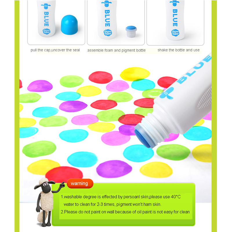 Dot Painting Kit Clayon Marker Learning Education Toy Drawing