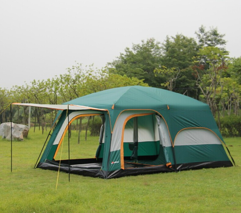 10 person Large military tents outdoor c&ing tent outdoor military camouflage tent c&ing tent leaves( & Online Buy Wholesale tent one person military from China tent one ...