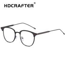 Óculos Retro Vidros Transparentes Claras Moda Óculos Óptica Armações de  Óculos de Olho Para As Mulheres Homens Miopia Espetáculo. eb54b45f5e