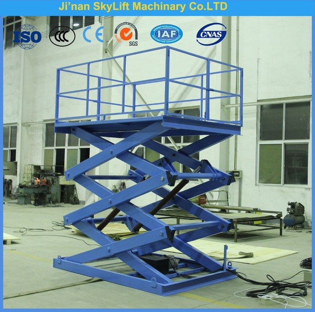 Aliexpress Com Buy 3m Hydraulic Scissor Lifts Cargo