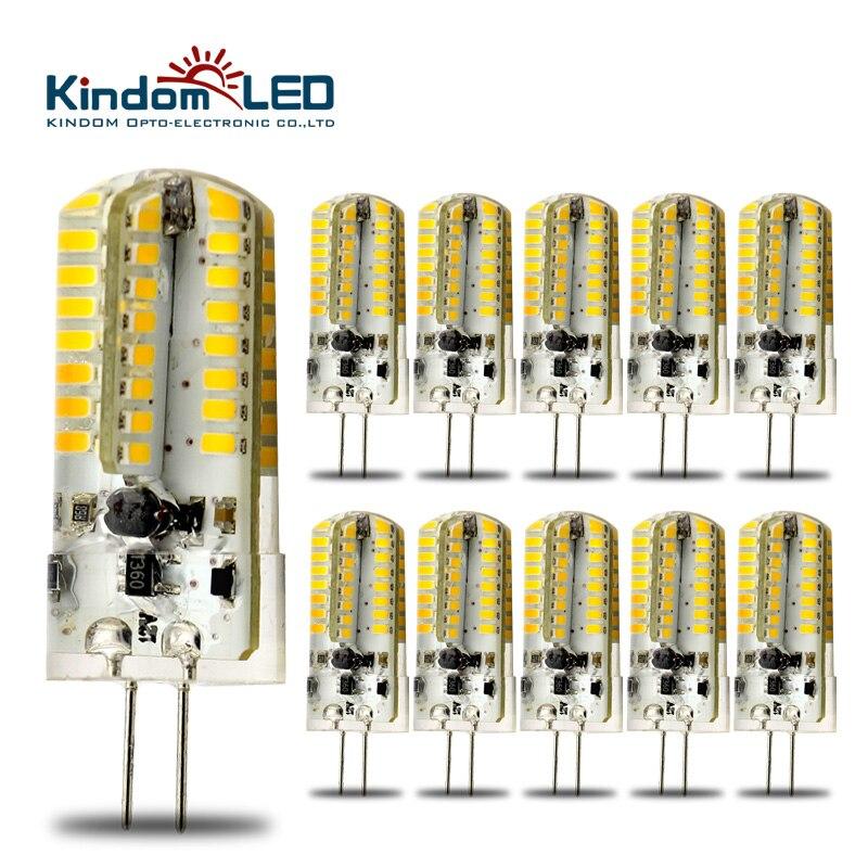 Kindomled 10 Stks G4 12 Volt Led Lampen Ac Dc 3 W 6 W Lamp High