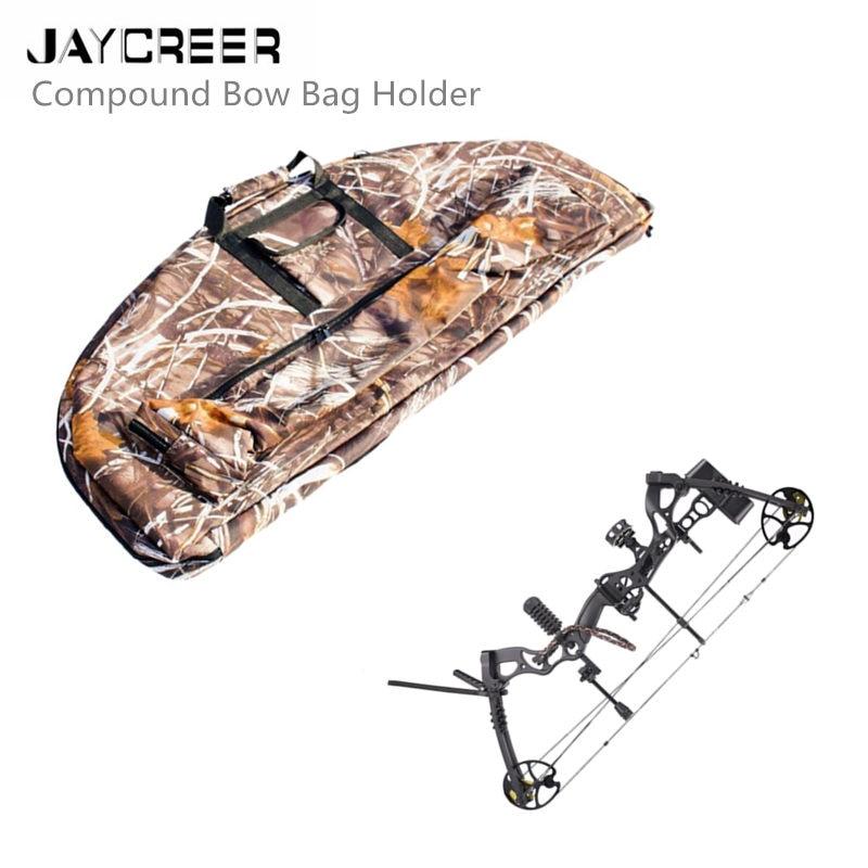 JayCreer Compound Bow Case Archery Durable Canvas Bag