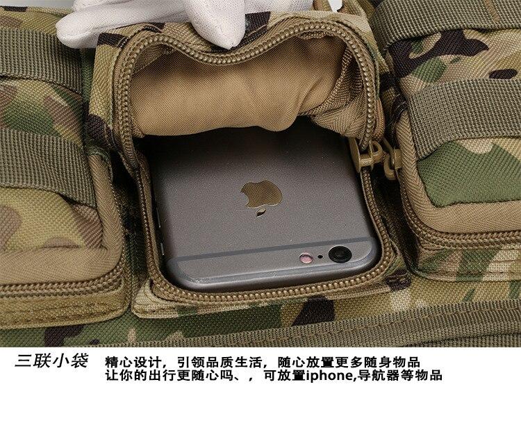 novo multi-função militar camuflagem bolsos Tipo de Estampa : Camouflage