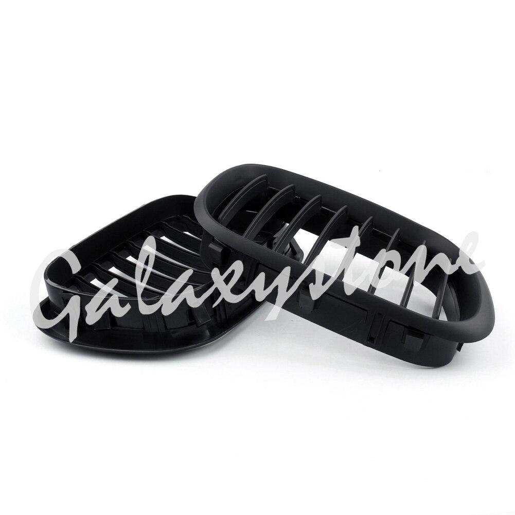 Paire de Grilles avant noir mat pour BMW X5 E53 1998-2003 2001 2002