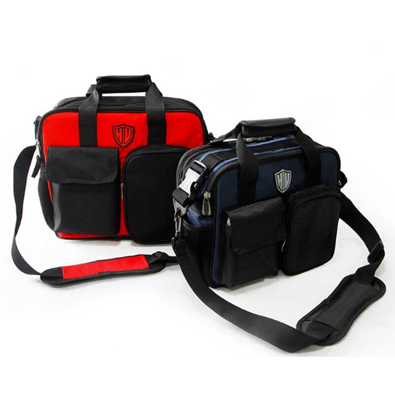 Accesorios para colgadores de garaje bolsa de kit de herramientas de mantenimiento del bolso bolsa de herramientas de la cintura de la lona multifunción