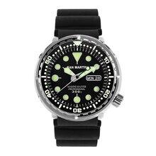 Tuna SBBN015 мужские модные часы Автоматические спортивные часы для дайвинга нержавеющая сталь наручные часы 300 водостойкий керамический или стальной ободок