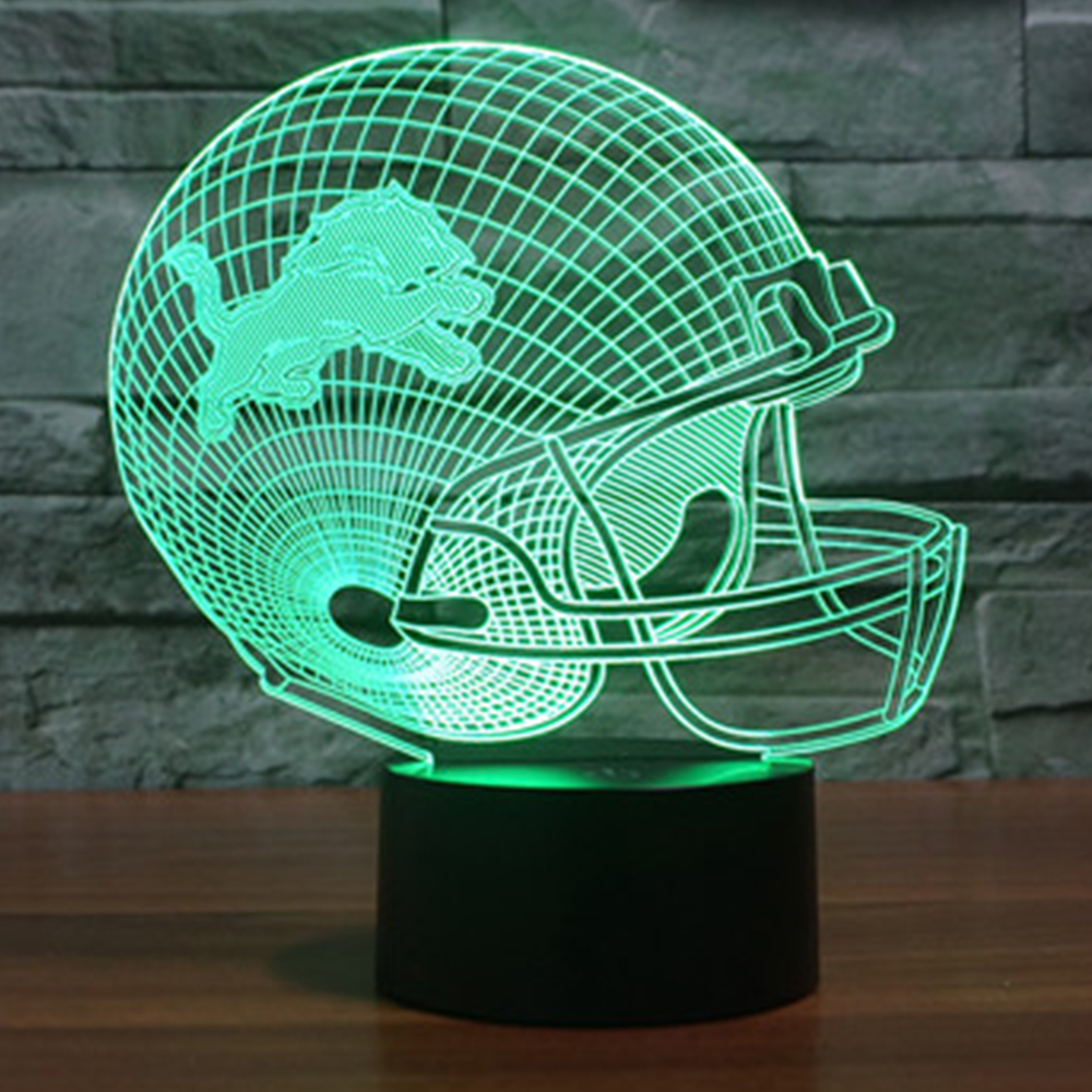 Luzes da Noite cap capacete 7 cor mudar Geração de Energia : Toque