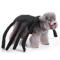 תלבושות ליל כל הקדושים כלב חיית מחמד מגניב חמוד כלב בגדי ביגוד עכביש תלבושות עבור כלב 30